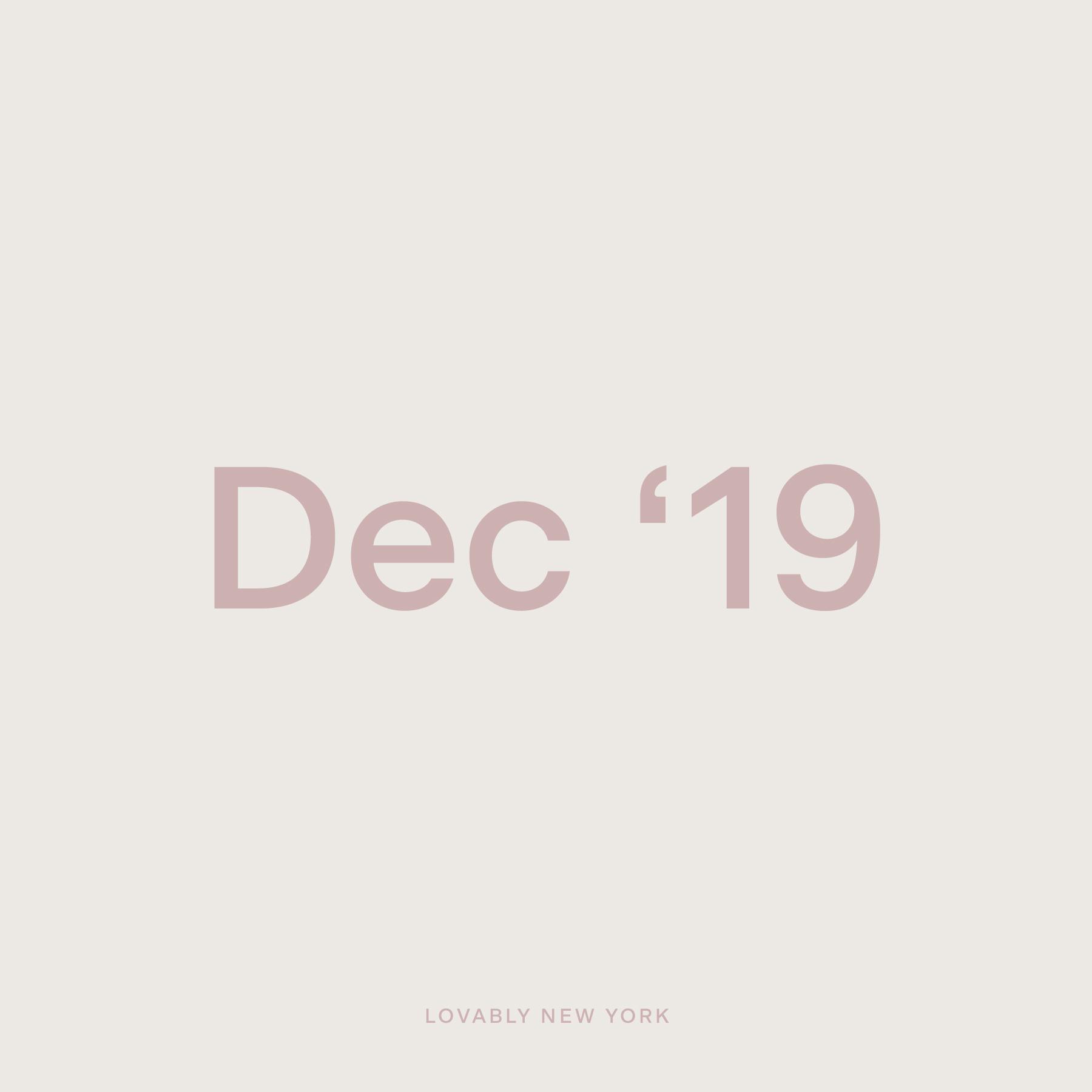 December '19
