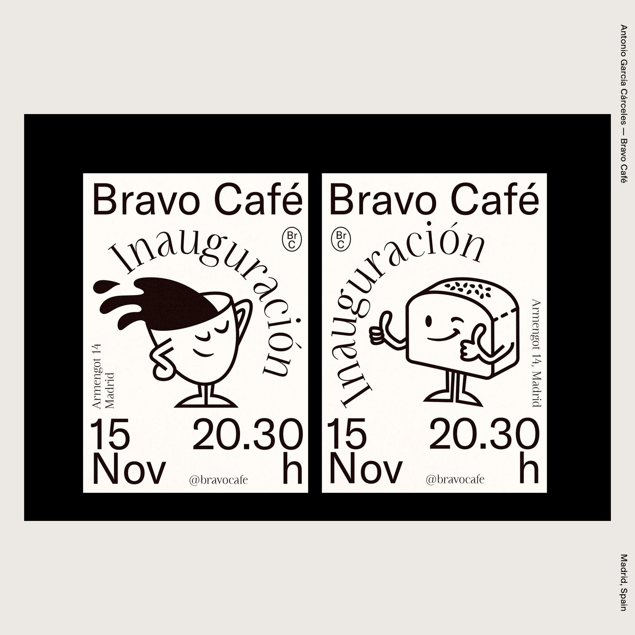 Antonio García Cárceles — Bravo Café
