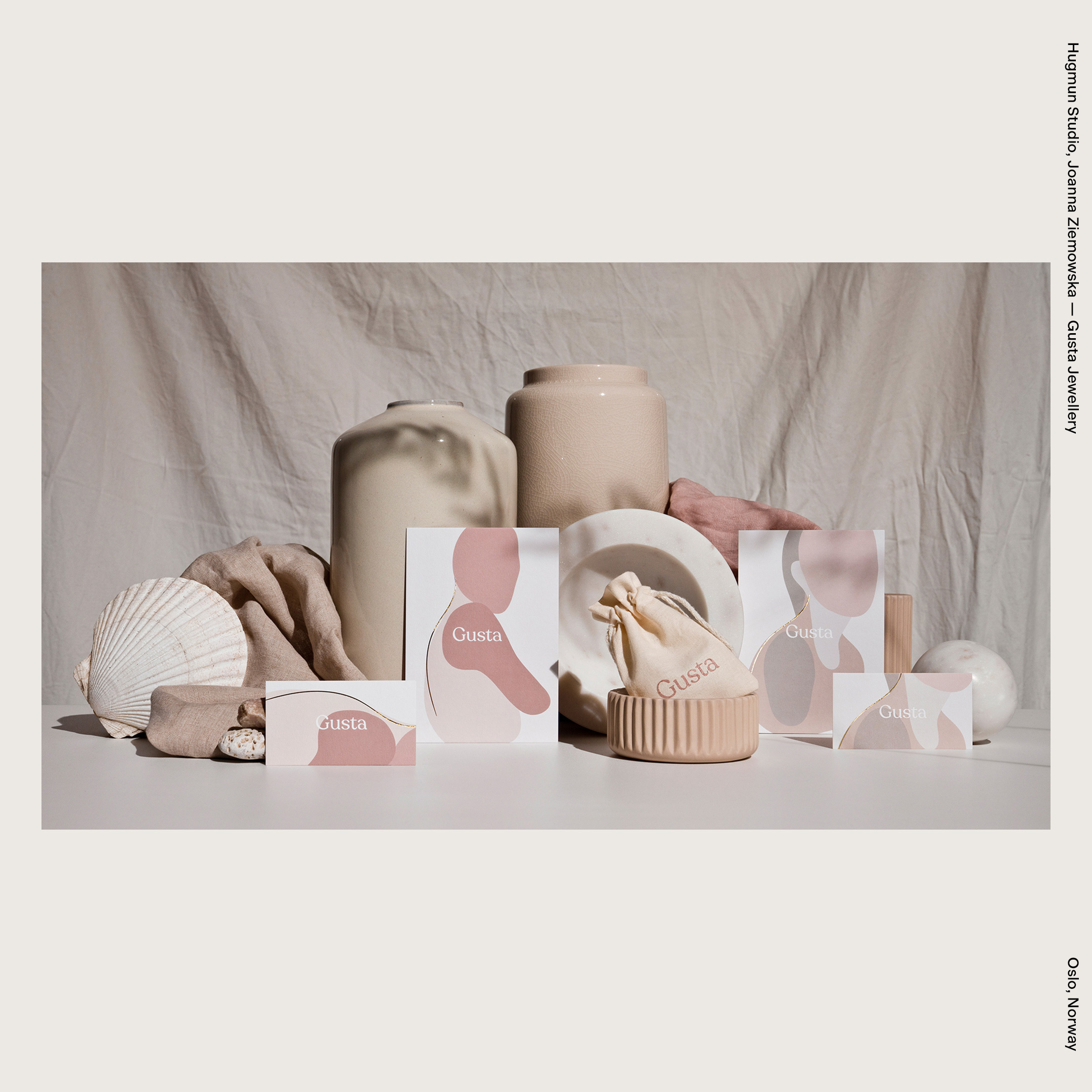 Hugmun Studio, Joanna Ziemowska — Gusta Jewellery