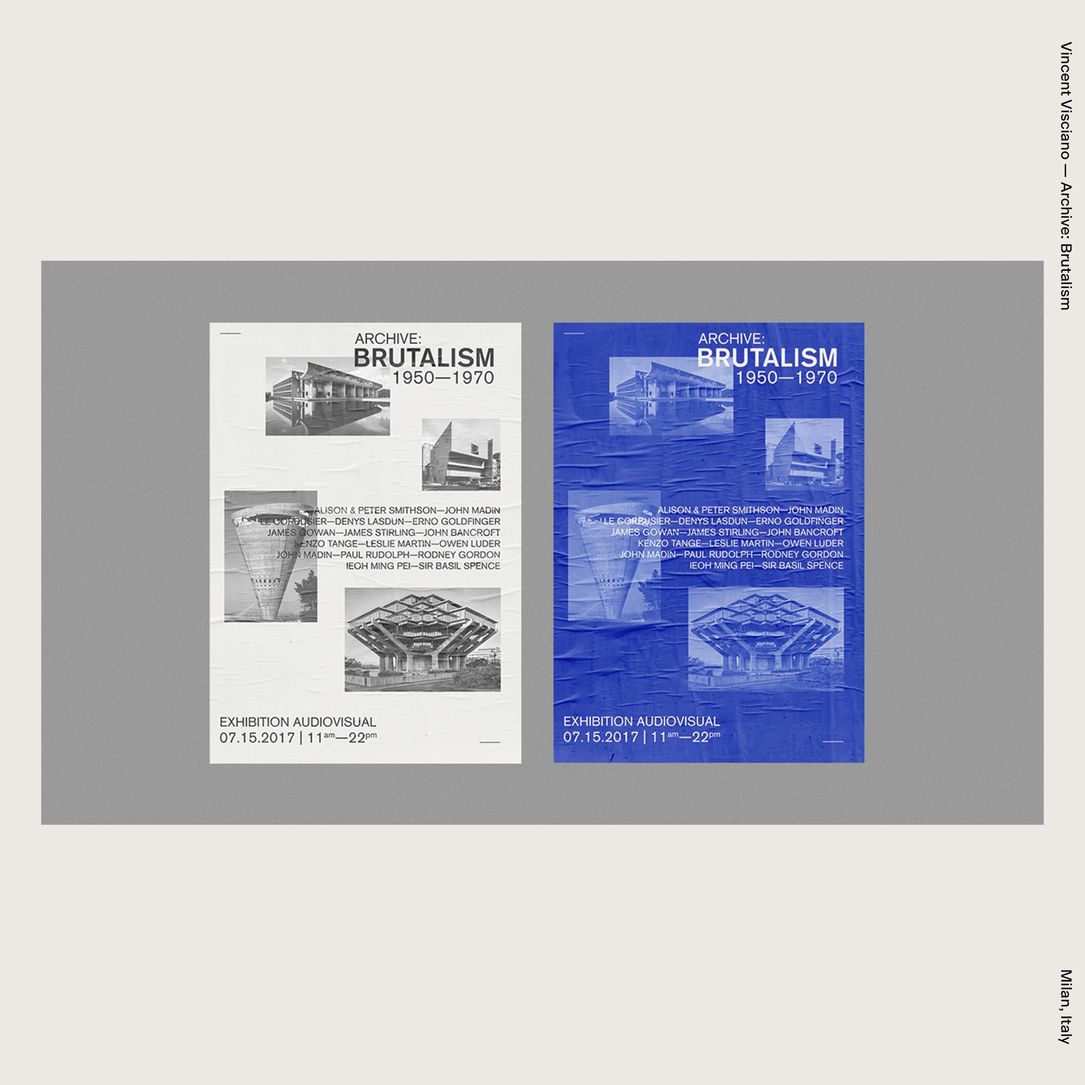 Vincent Visciano — Archive: Brutalism