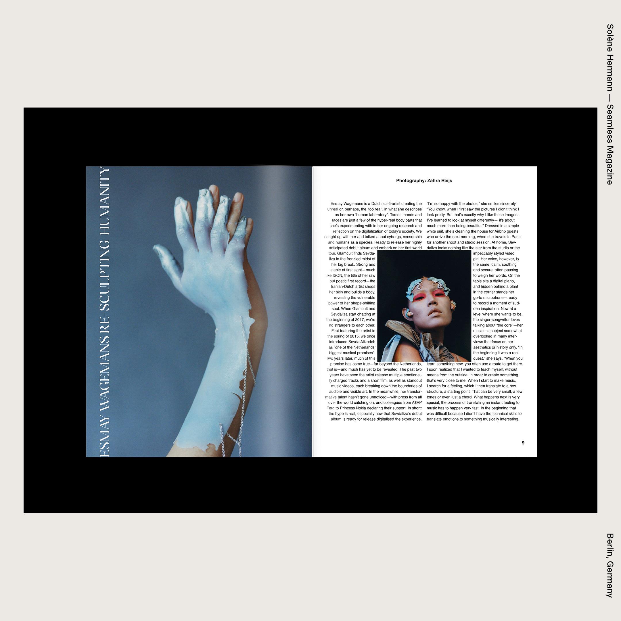Solène Hermann — Seamless Magazine