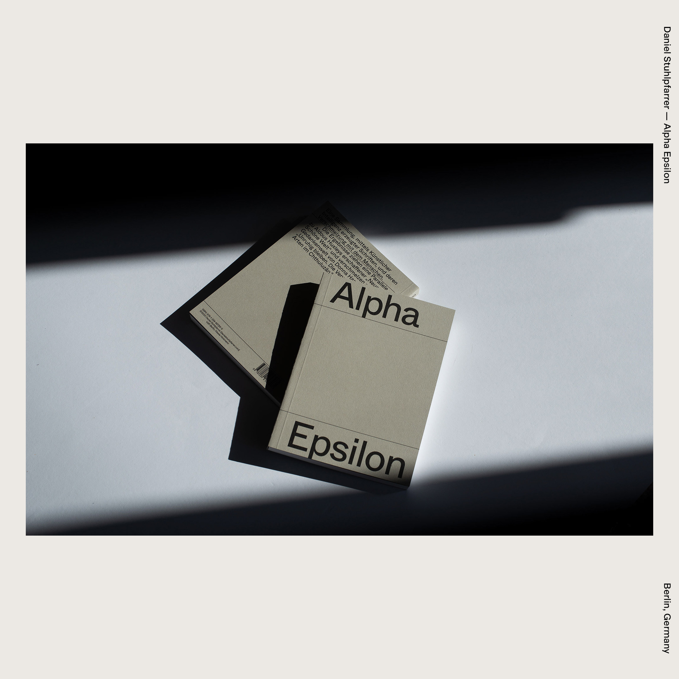Daniel Stuhlpfarrer — Alpha Epsilon