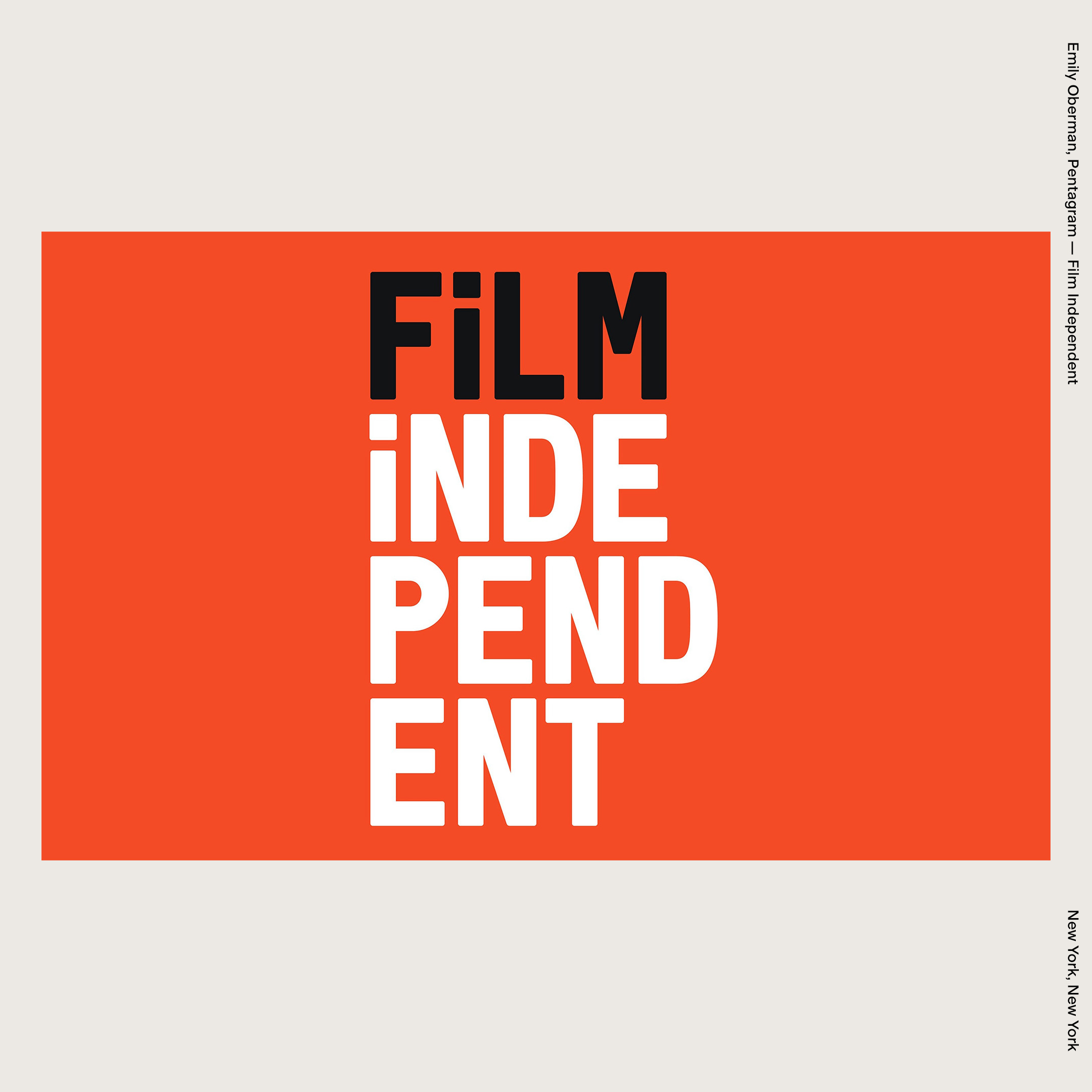 Emily Oberman, Pentagram — Film Independent