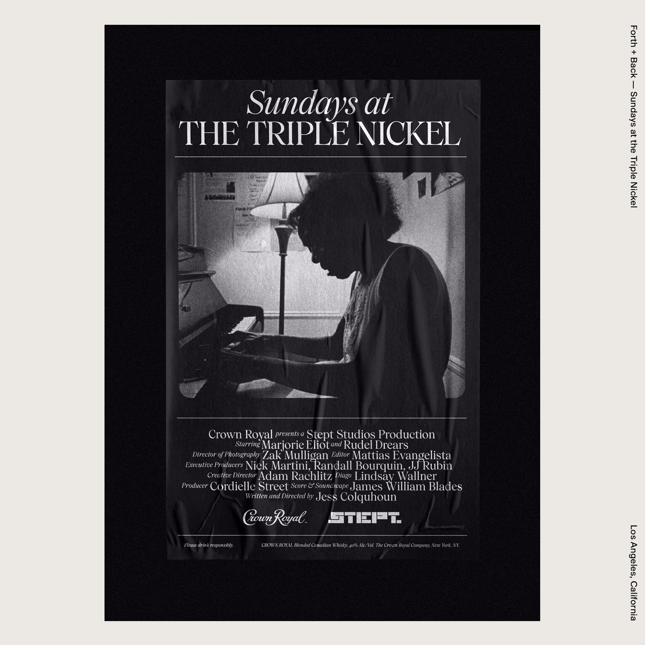 Forth + Back — Sundays at the Triple Nickel