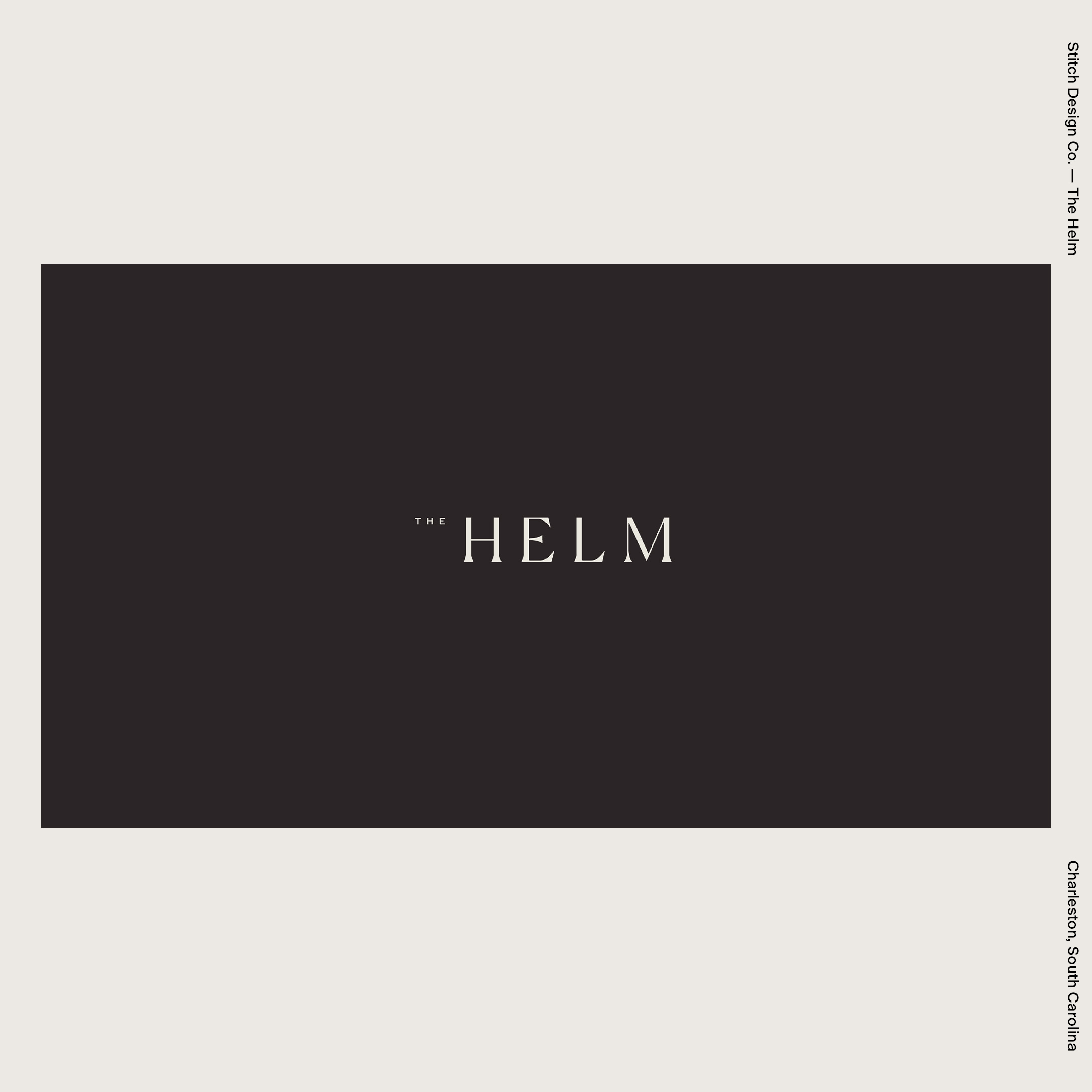 Stitch Design Co. — The Helm