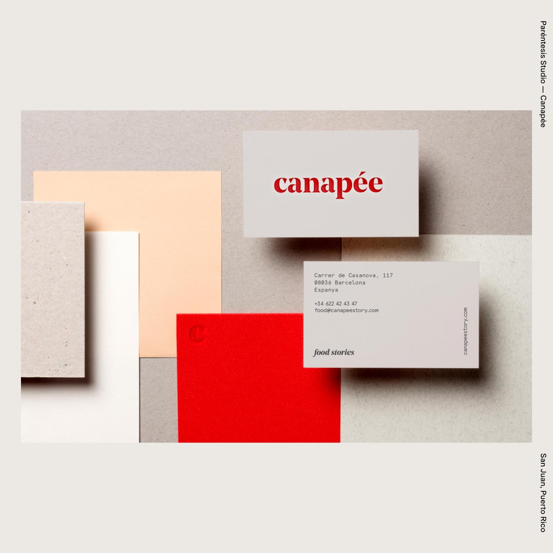 Paréntesis Studio — Canapée