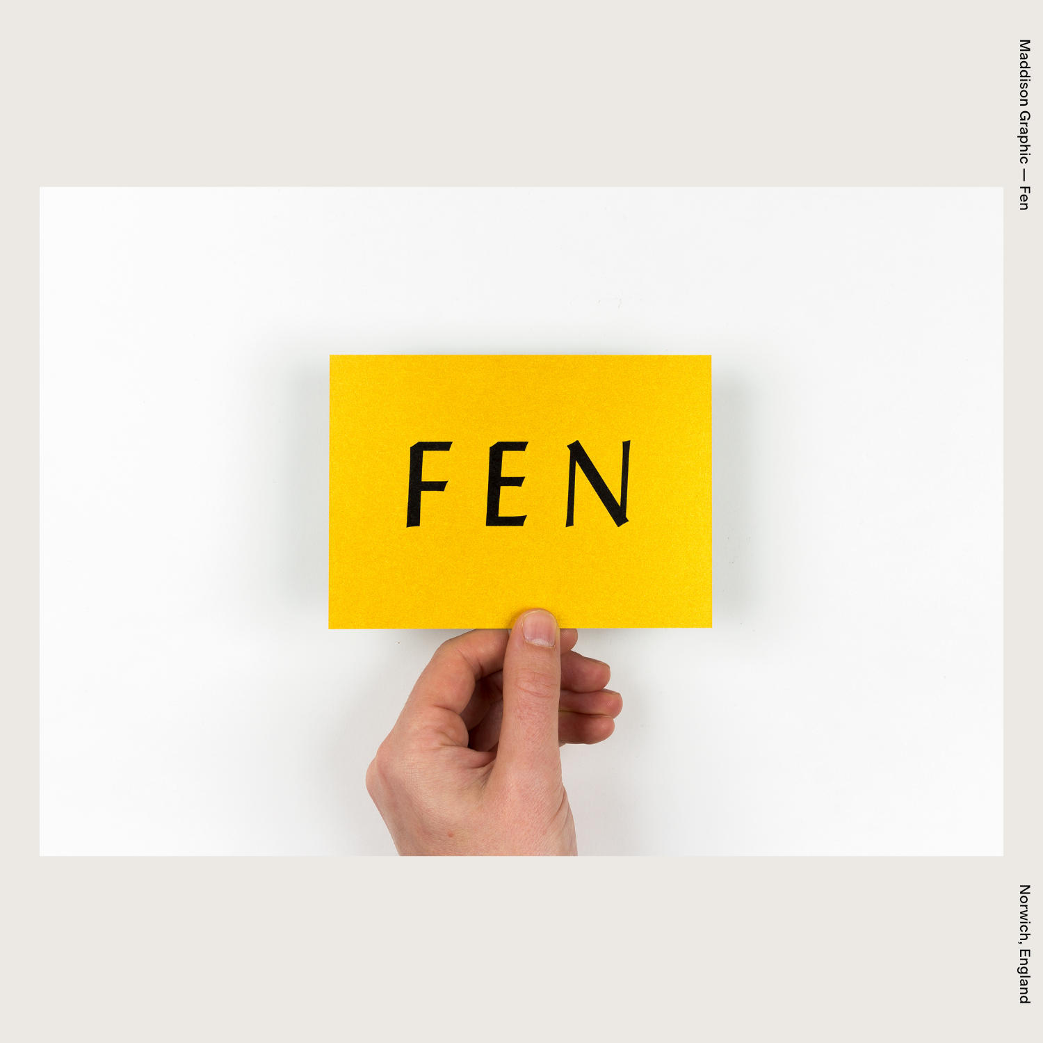 Maddison Graphic — Fen
