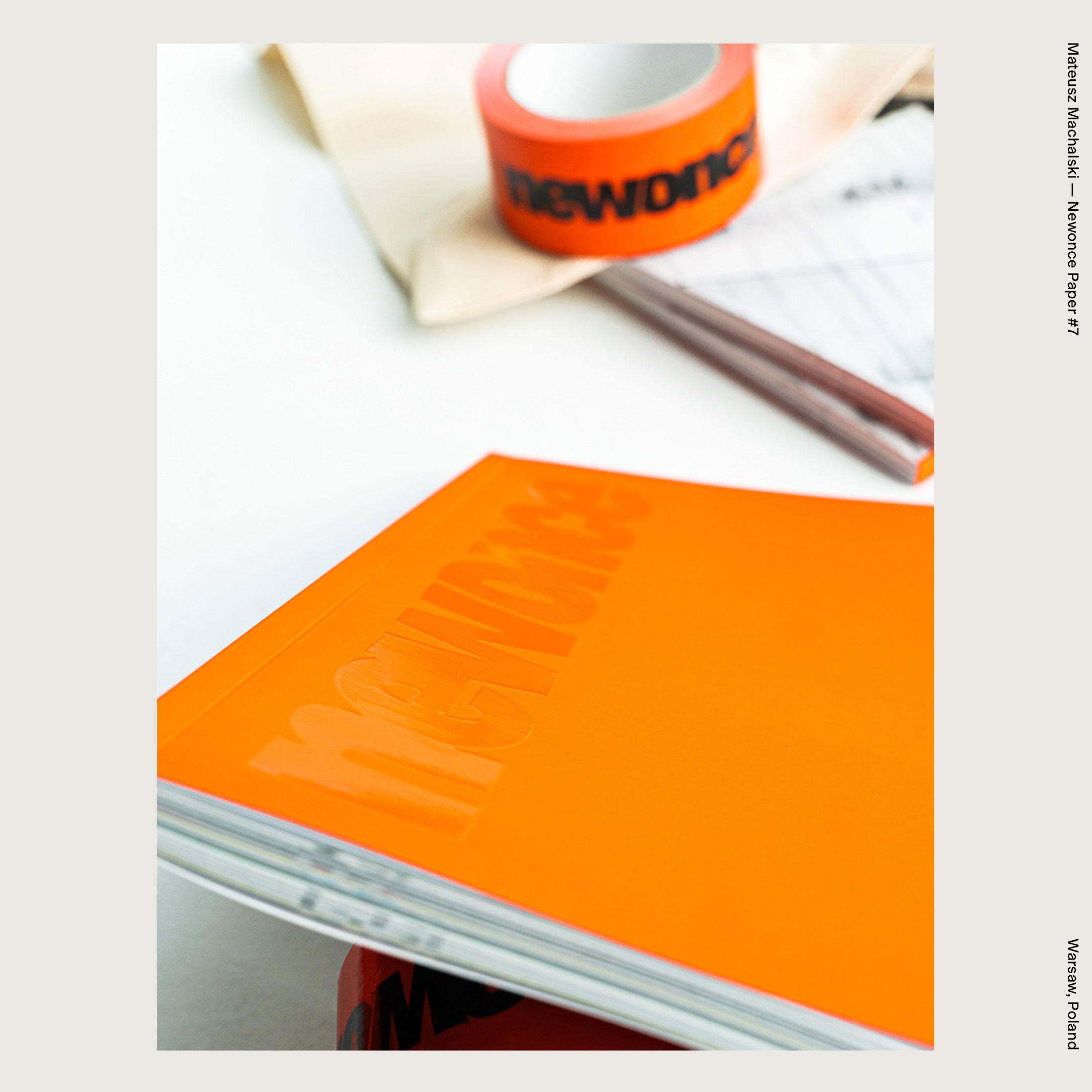 Mateusz Machalski — Newonce Paper #7