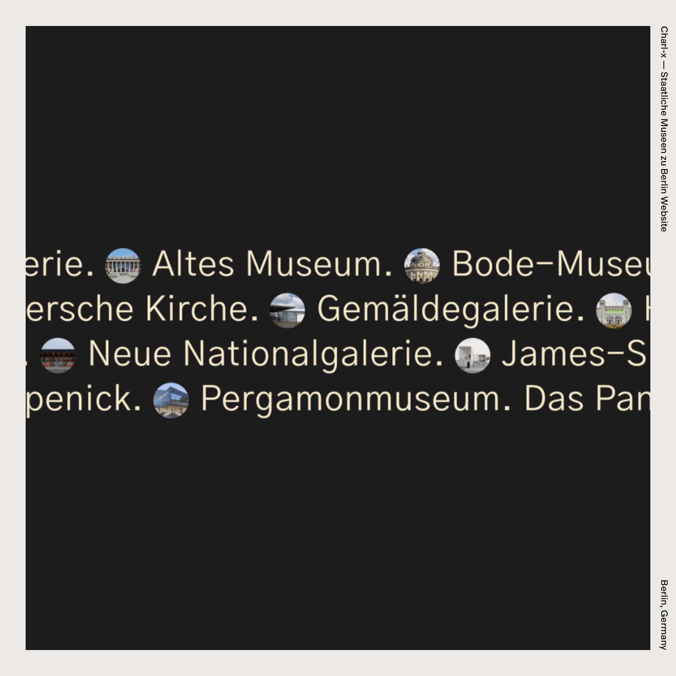 Charl-x — Staatliche Museen zu Berlin Website