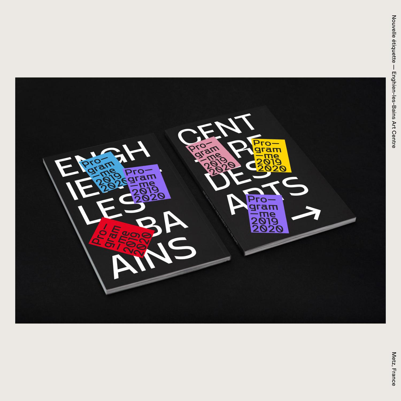 Nouvelle étiquette — Enghien-les-Bains Art Centre