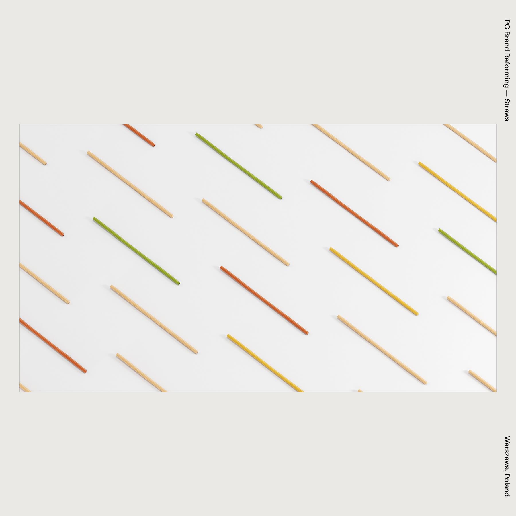PG Brand Reforming — Straws