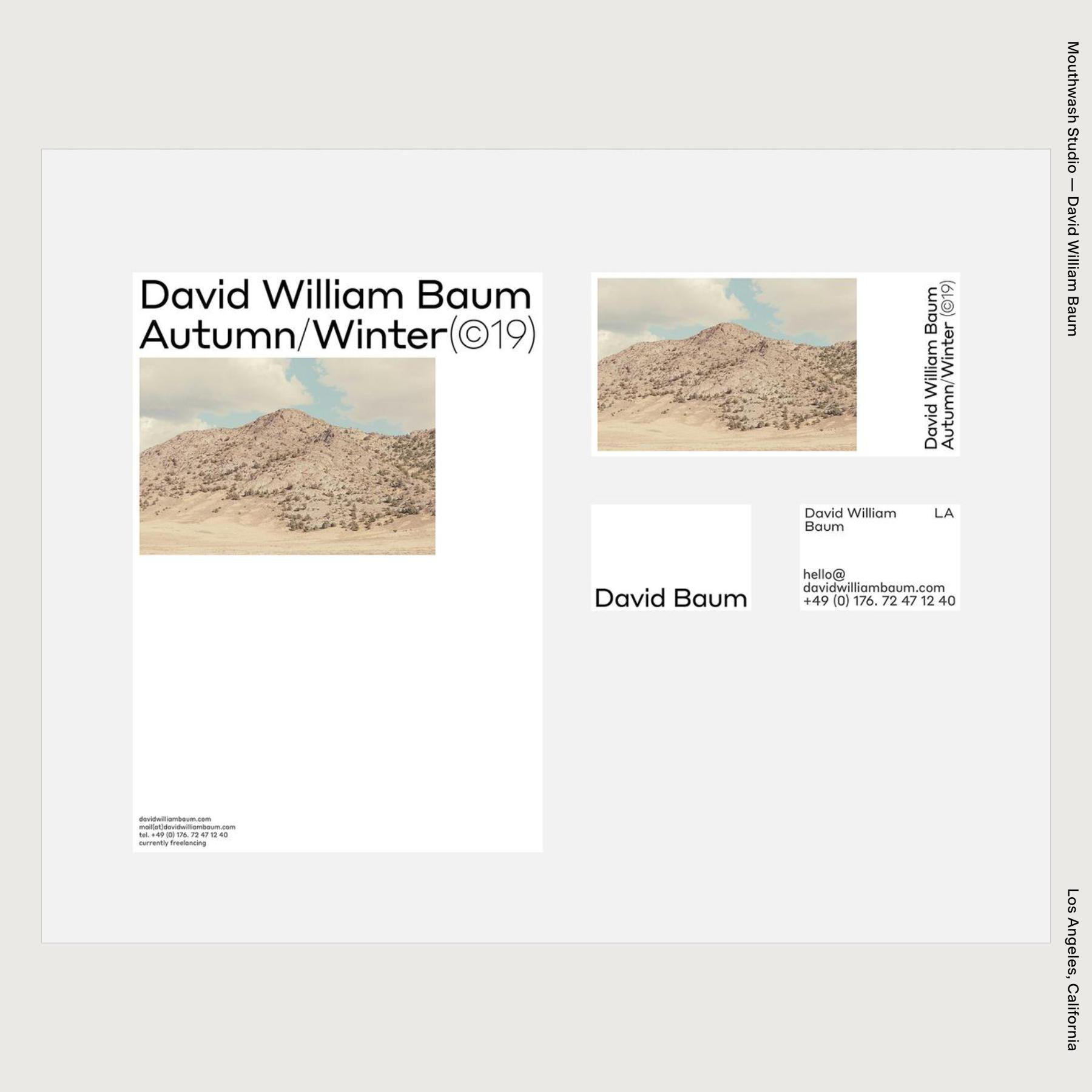 Mouthwash Studio — David William Baum