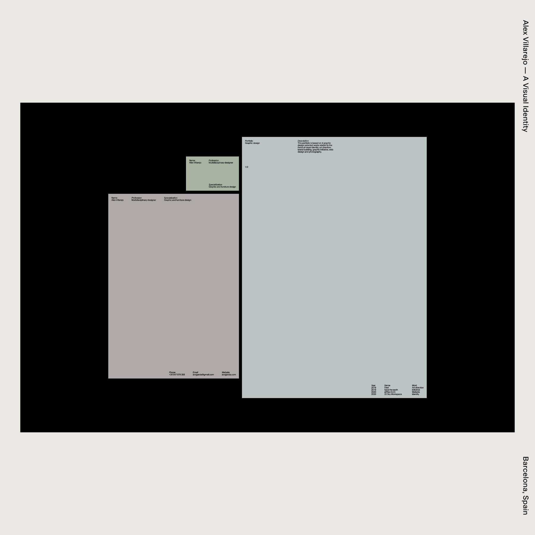Alex Villarejo — A Visual Identity