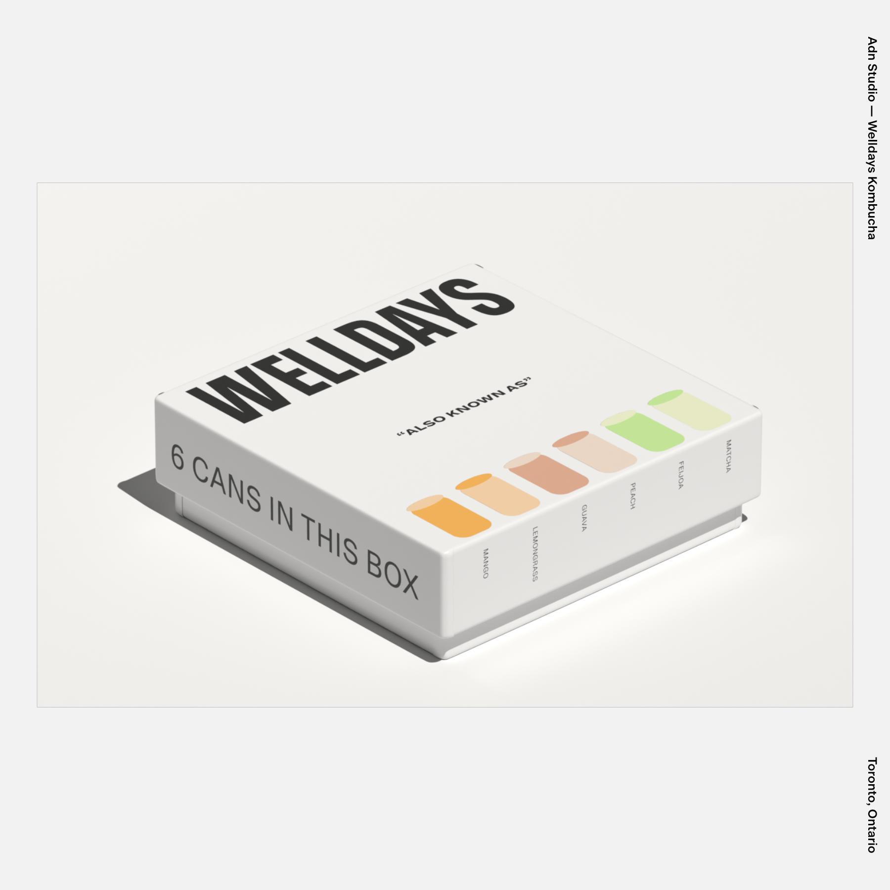 Adn Studio — Welldays Kombucha