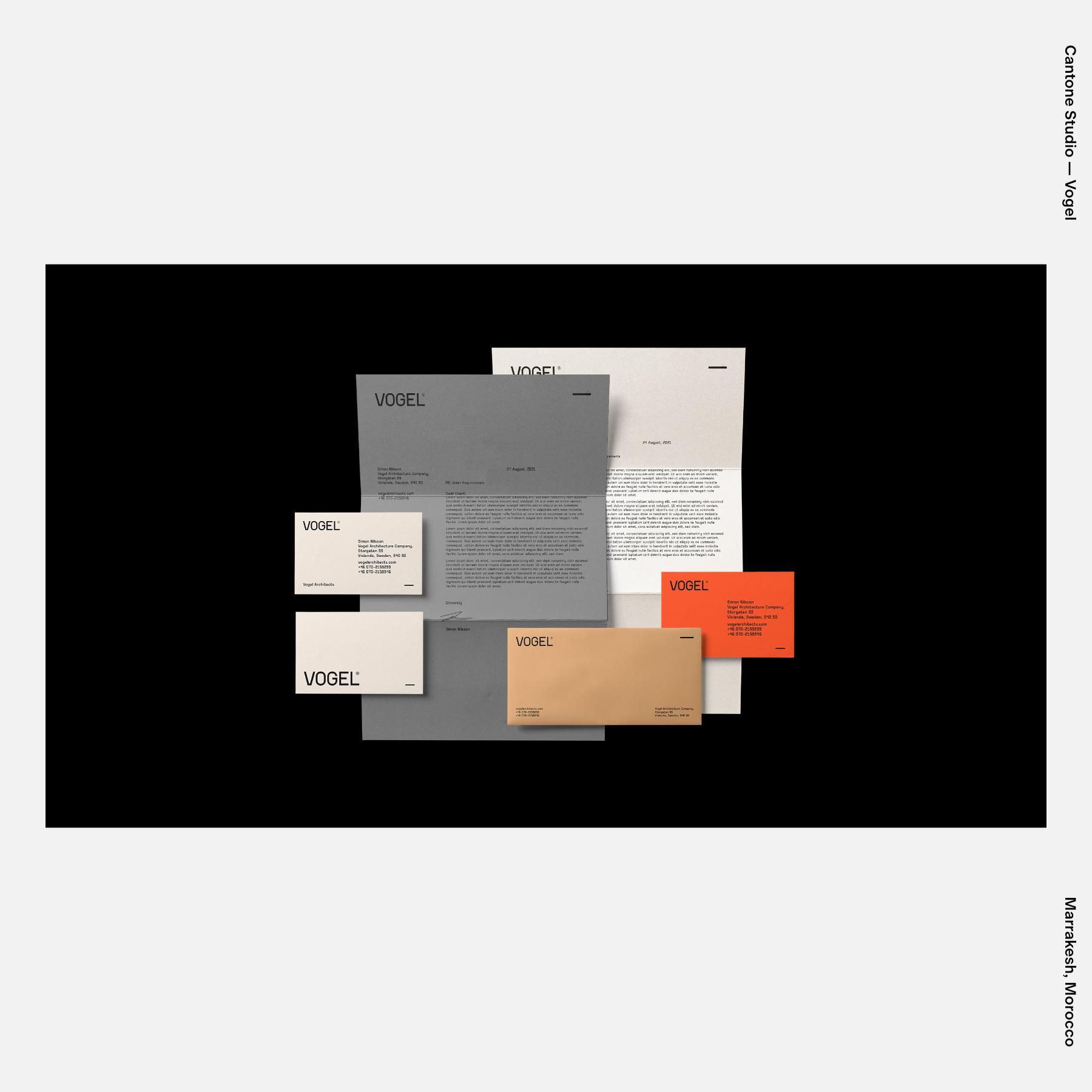 Cantone Studio — Vogel