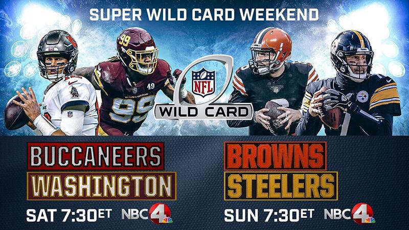 Ilmaiset NFL vihjeet | Super Wild Card Weekend | NFL