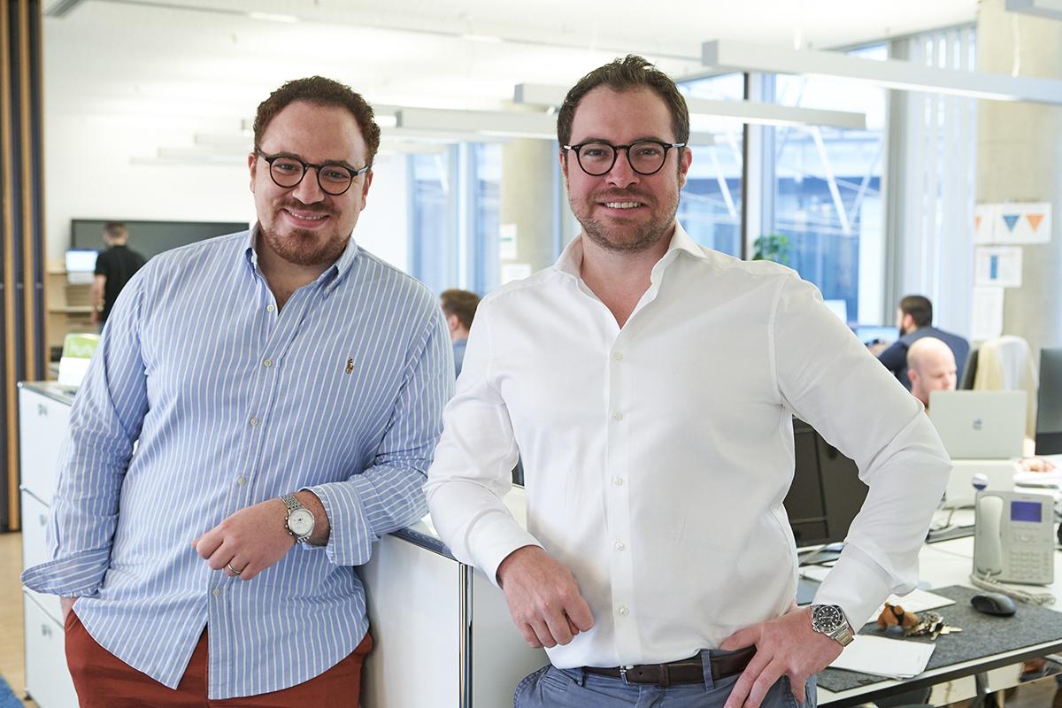 CrowDesk-Gründer: Jamal El Mallouki, Johannes Laub