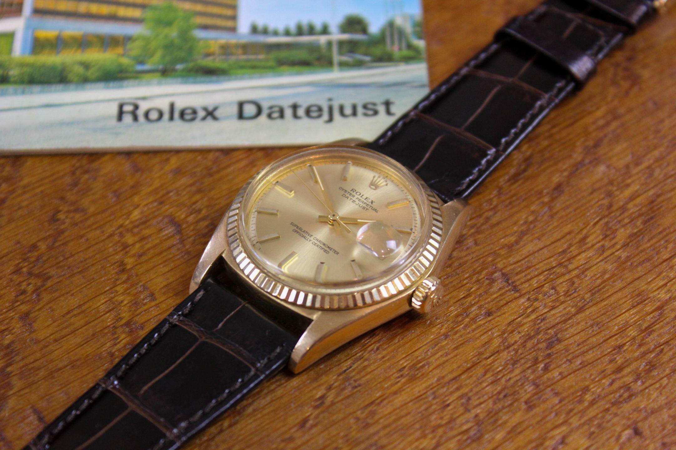 Rolex  ref 1601 18k Datejust