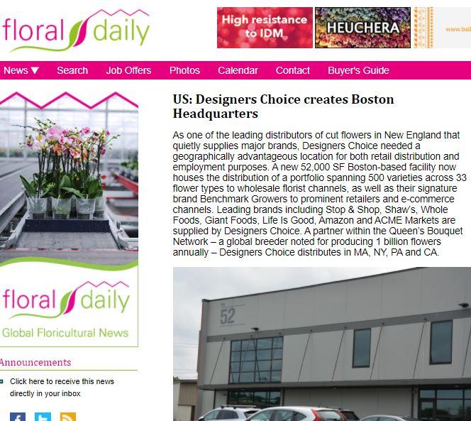 US: Designers Choice Creates Boston Headquarters