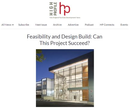 Feasibility and Design Build: Can This Project Succeed?