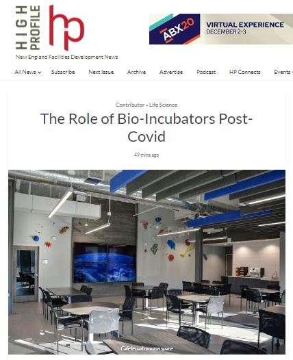 The Role of Bio-Incubators Post-Covid