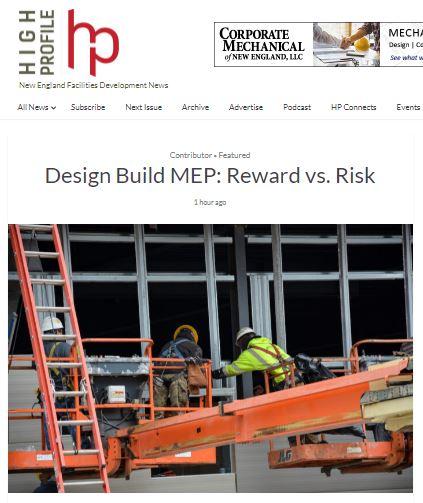 Design Build MEP: Reward vs. Risk