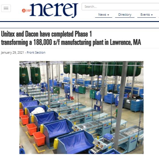 Unitex and Dacon Have Completed Phase 1