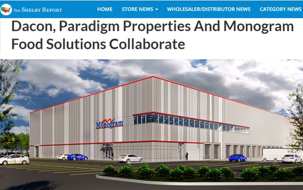 Dacon, Paradigm Properties And Monogram Food Solutions Collaborate