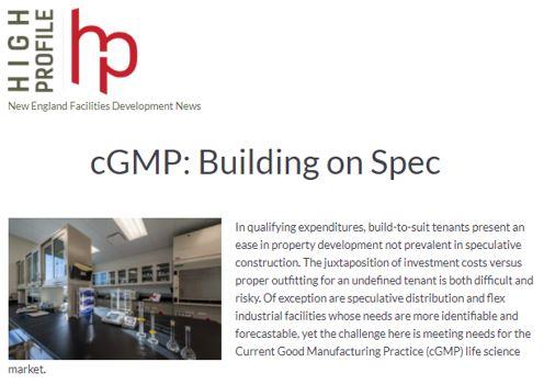 cGMP: Building on Spec