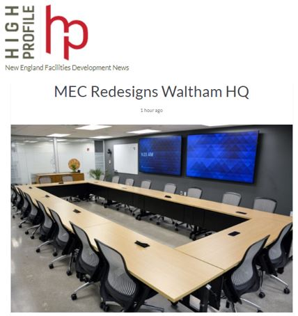 MEC Redesigns Waltham HQ