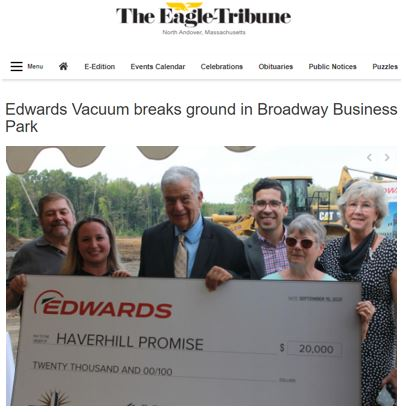 Edwards Vacuum Breaks Ground In Broadway Business Park