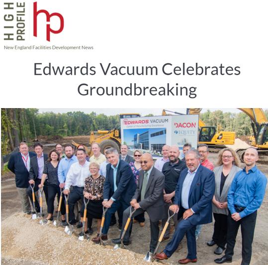 Edwards Vacuum Celebrates Groundbreaking
