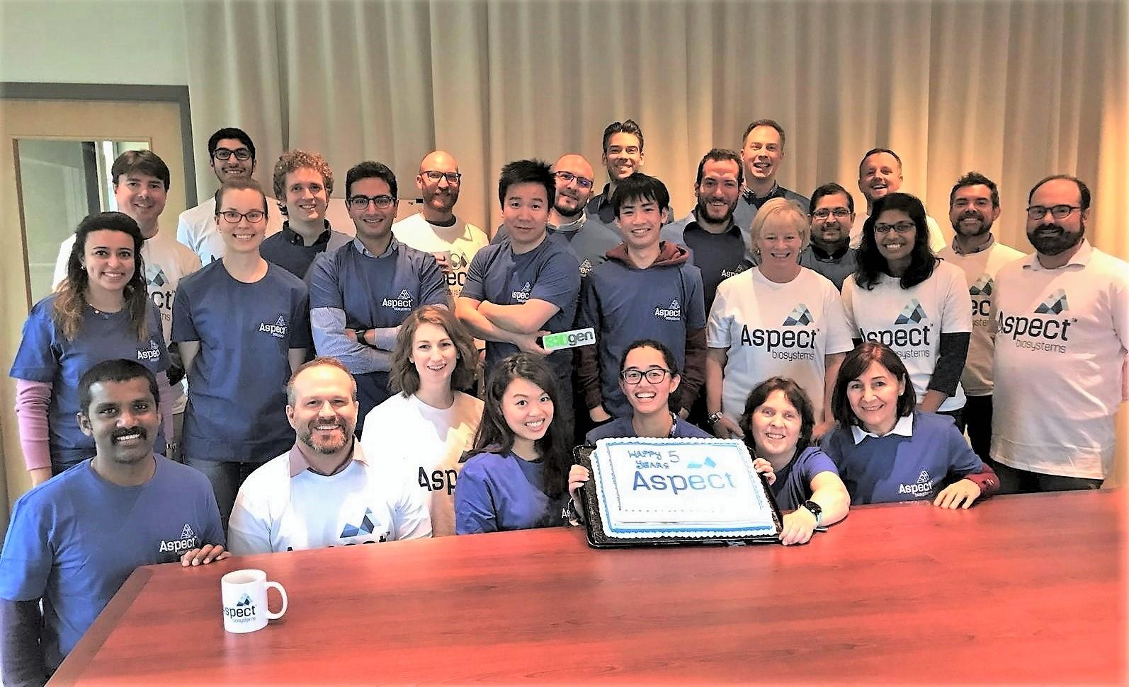 Aspect Biosystems' Team