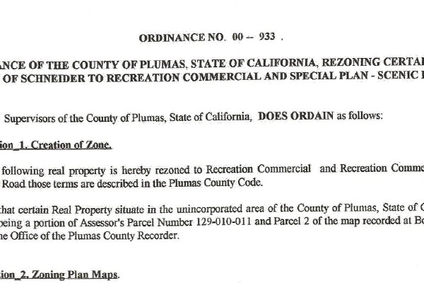 Ordinance No 00 - 933 Doc