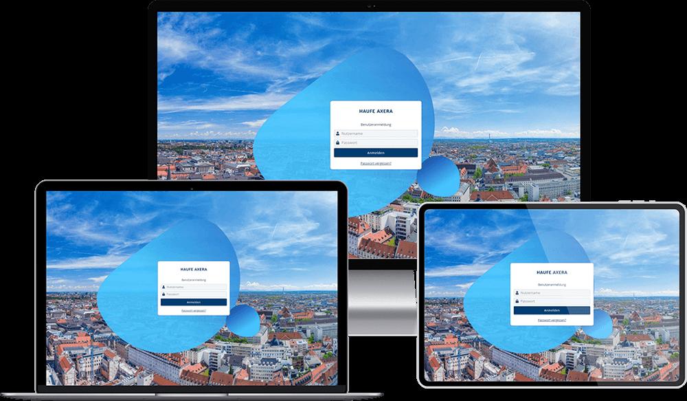 Axera in neuem Design mit verbesserter Nutzerführung
