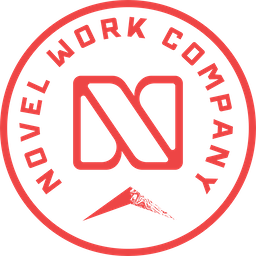 Novel Work Co. Badge Logo