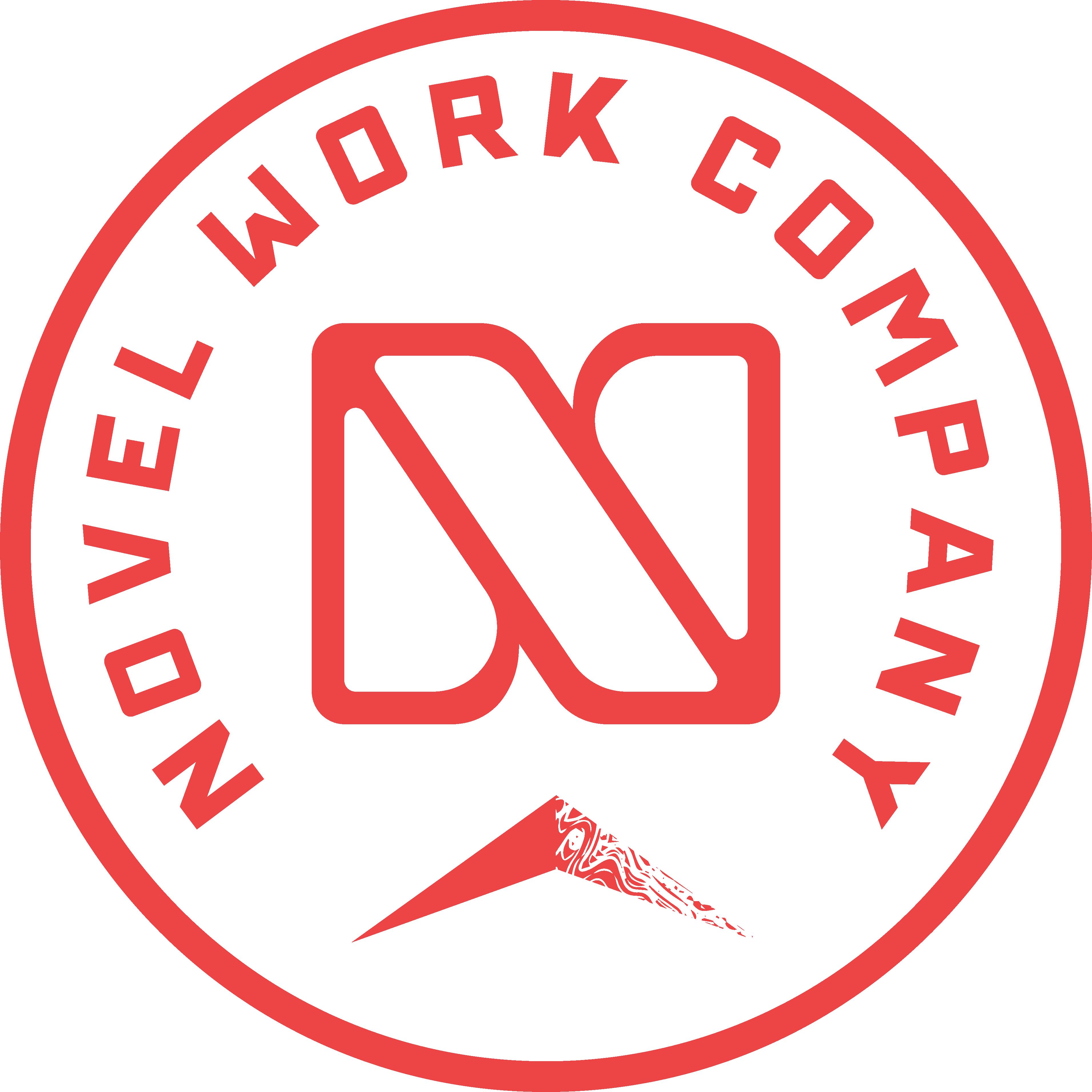Novel Work Co. Badge Logo