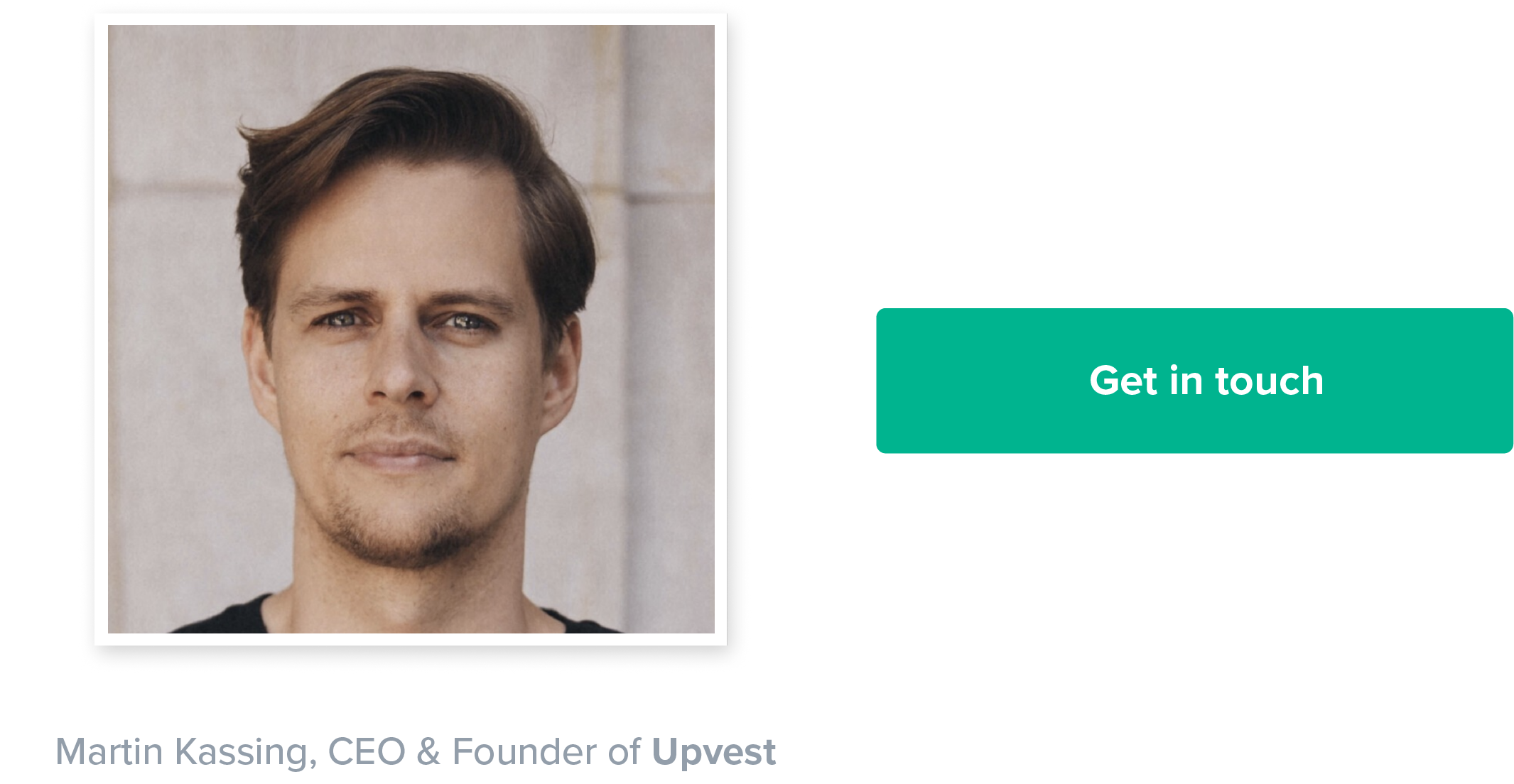 Upvest CEO