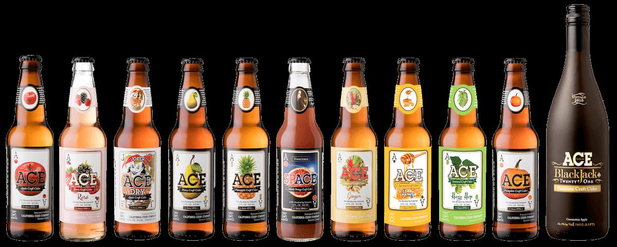 ACE Cider Bottles