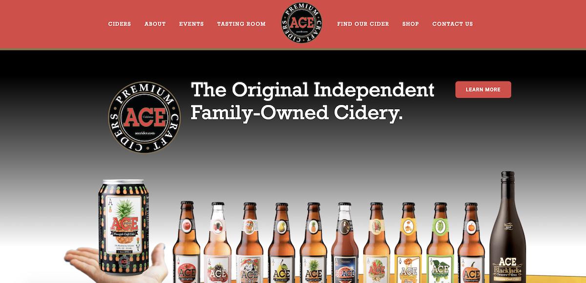 Find Our Cider   Ace Cider