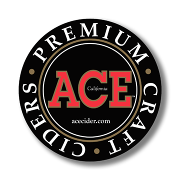ACE Cider Sticker Black