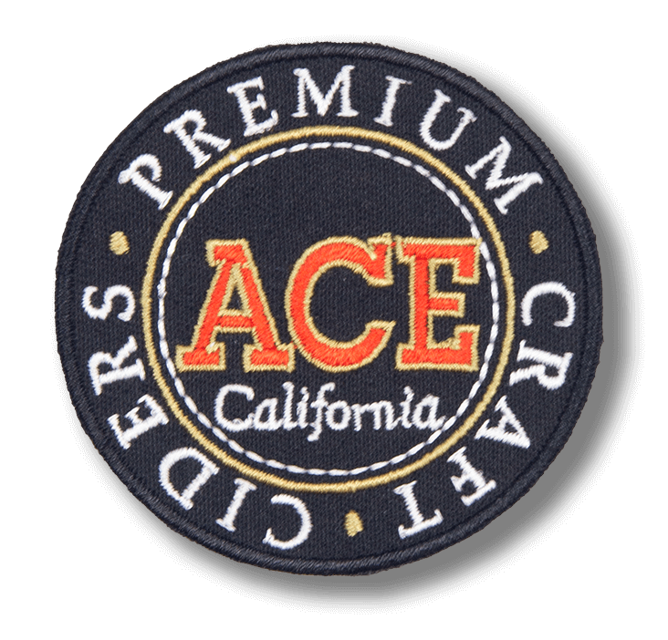 ACE Cider Black/Gold Patch