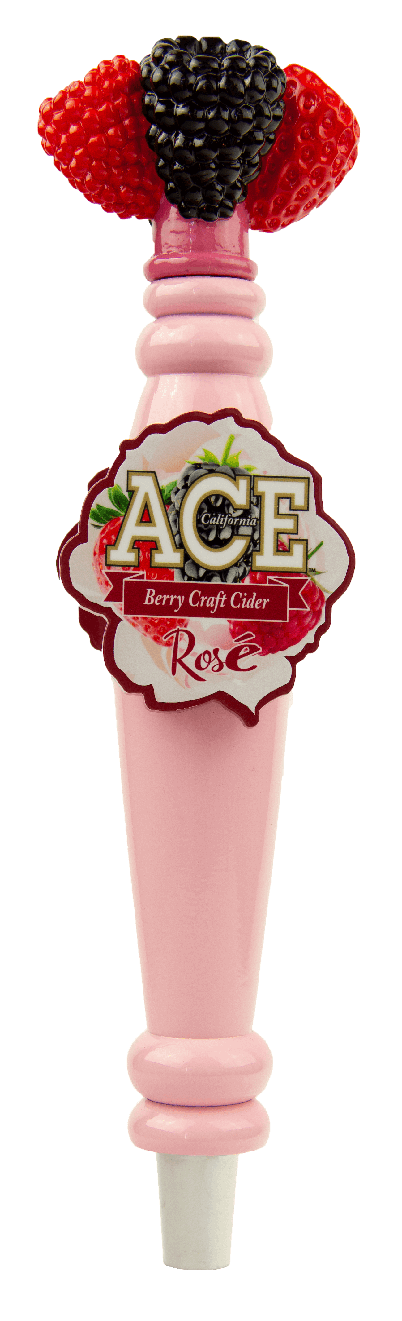 ACE Berry Rose Tap Handle