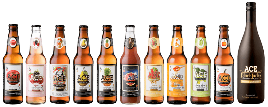 ACE Cider Bottles