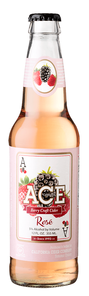 Ace Joker cider bottle Ace Cider