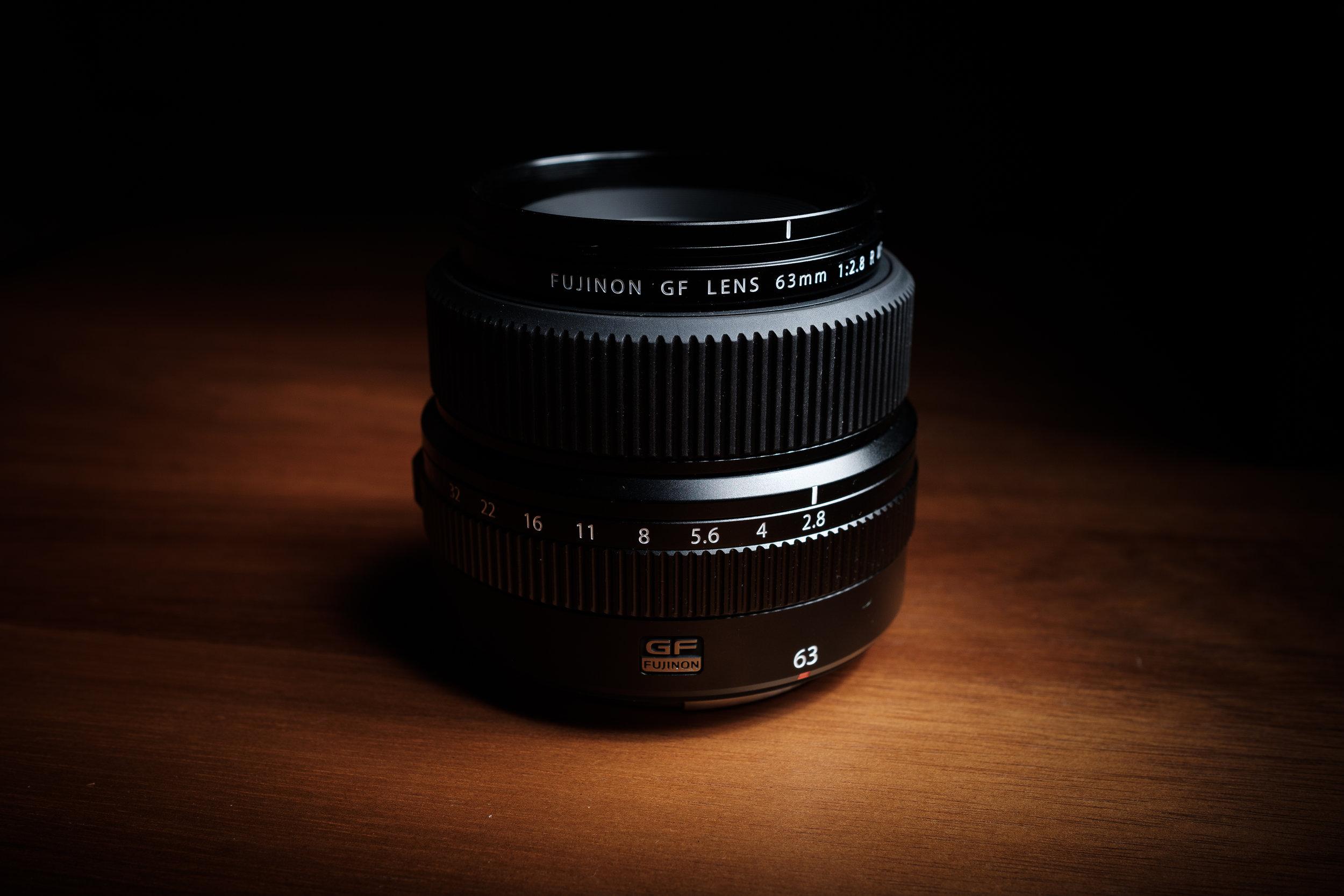 Fujifilm 63mm f2.8