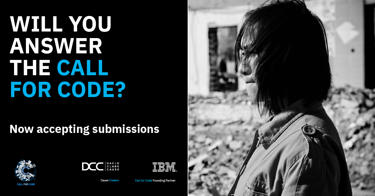 Will you answer the call for code_ accepting submissions FACEBOOK LINKEDIN