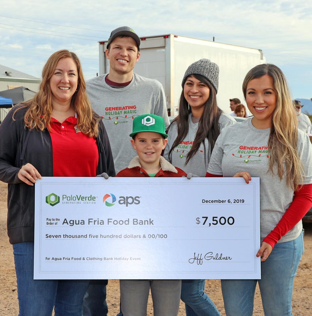 Palo Verde Generating Station giving back