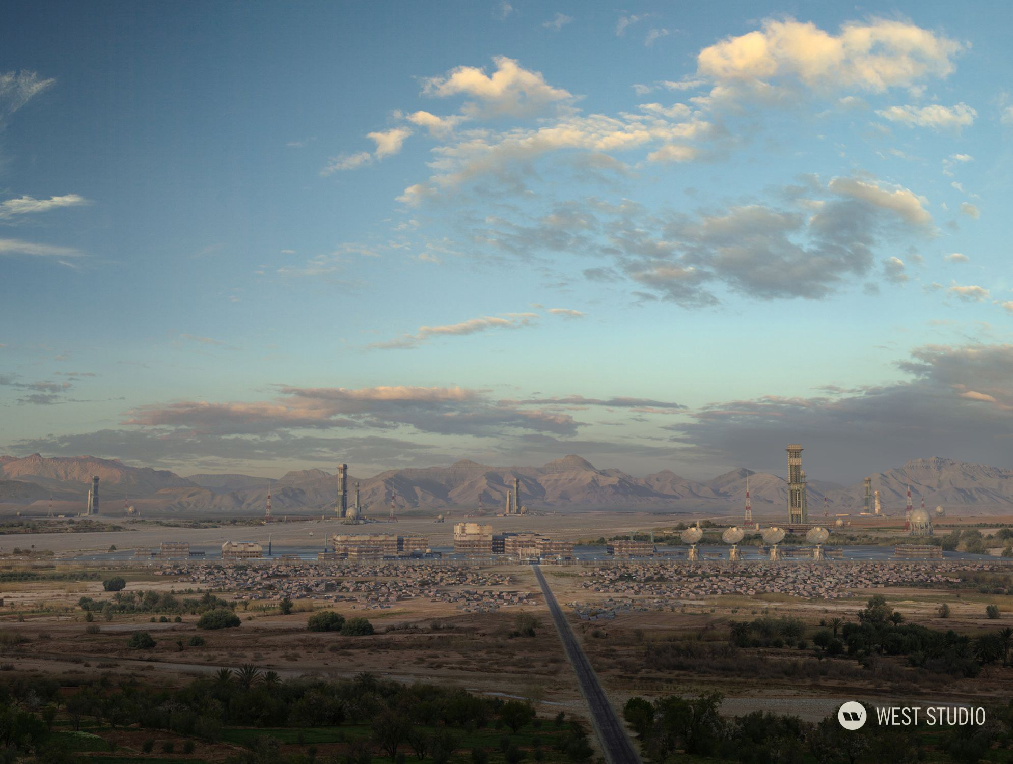 Matte Painting, Commercial, VFX, Backgrounds