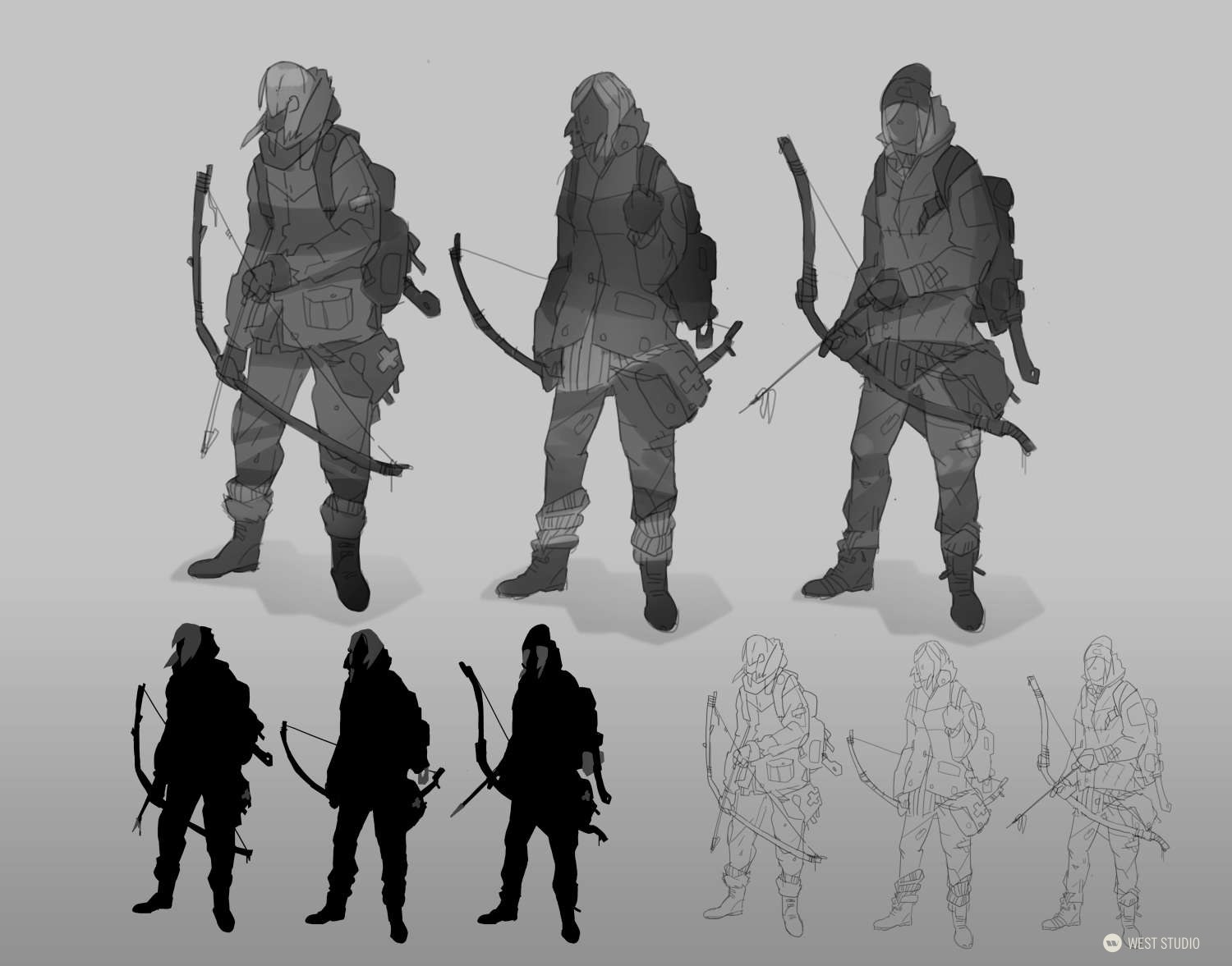 Character Concepts, Environment Concepts, Animal Concepts, World Building